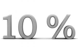 Általában 10% körül mozognak a kamatok